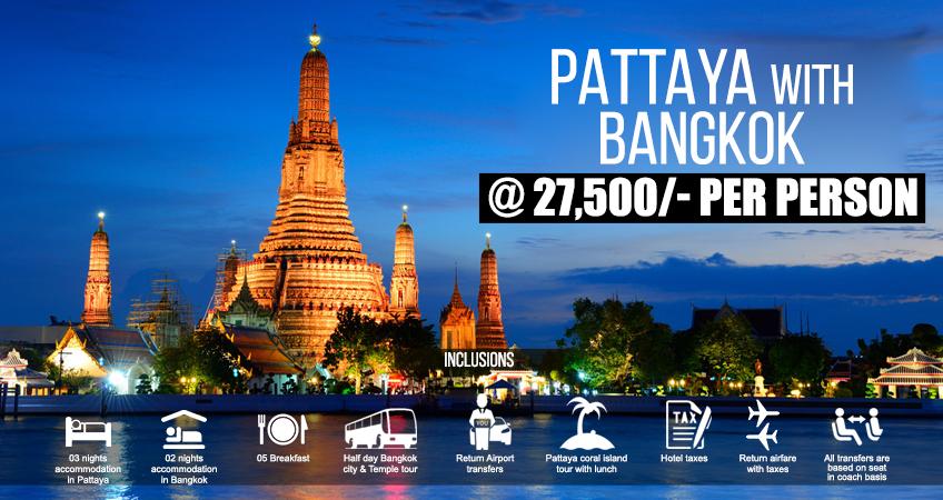 Pattaya With Bangkok